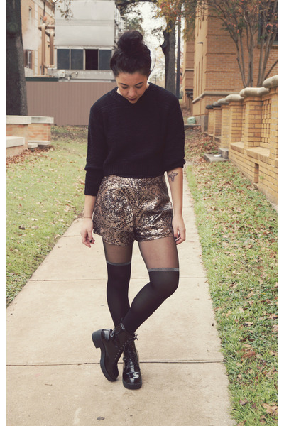 Missguided tights - Missguided shorts