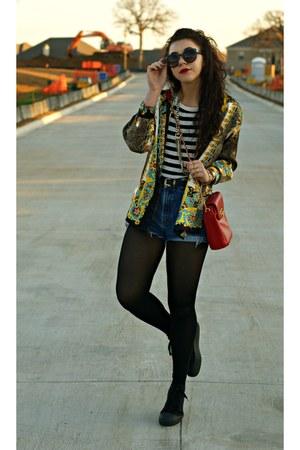 GoJane sunglasses - Goodwill blouse - asos sneakers