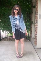 upscale jacket - f21 shirt - Wetseal shoes