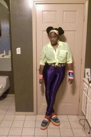 deep purple Ebay pants