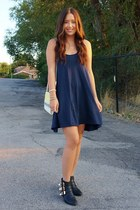 navy H&M dress
