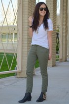 olive green Michael Kors pants