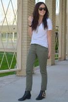 olive green Michael Kors pants