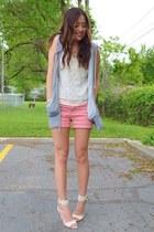 beige Qupid heels