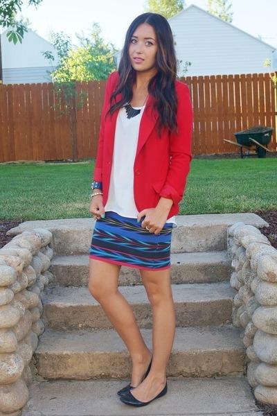 red Forever 21 blazer