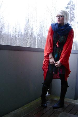 H&M dress - Vero Moda cardigan