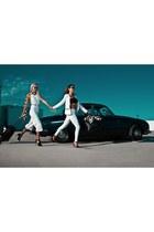 white white bodysuit Zara bodysuit - black leather bag Aviator1909 bag