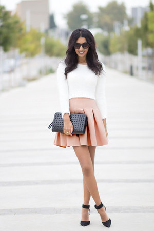 pink frontrow skirt