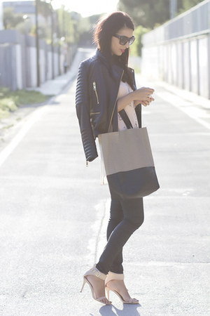 black Mango jacket - neutral Yes Walker bag