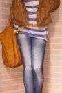 Blue-bershka-leggings-blue-zara-shirt-gold-stradivarius-shoes-gold-dont-kn