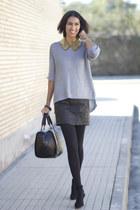 heather gray Primark jumper