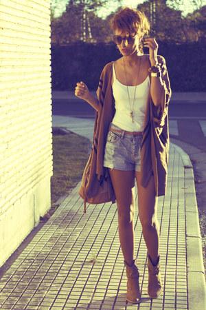 crimson poncho H&M cape