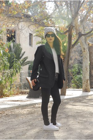 Isabel Marant pour HM blazer - Sister Birkin hat - acetate Celine sunglasses