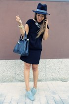 Zara dress - Lefties hat - Primark bag