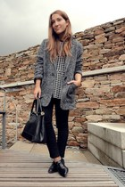 Mango jacket - pull&bear jumper - Lefties flats