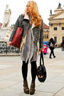 Army-green-acne-boots-gray-acne-jacket-brick-red-zara-bag-heather-gray-acn