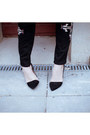 Black-zara-pumps-black-ebay-jeans-ivory-vintage-jumper