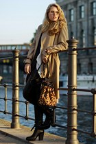 acne jacket - acne boots - acne coat - Alice by Temperley pants