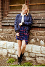 Black-casadei-boots-navy-zara-jacket-white-redvalentino-blouse