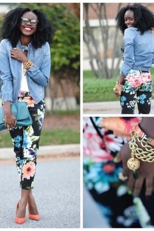 BCBG bracelet - Aldo shoes - DKNY jacket - H&M pants