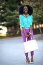 Christian-louboutin-shoes-forever-21-shirt-aldo-bag-jcrew-pants-h-m-belt