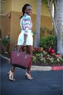 Zara-shirt-zara-bag-virgos-lounge-shorts-bcbg-sandals-michael-kors-watch