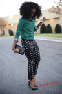 Loft-bracelet-h-m-sweater-christian-louboutin-pumps-jcpenny-pants