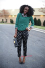 H-m-sweater-christian-louboutin-pumps-jcpenny-pants-loft-bracelet