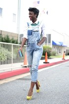 Zara jeans - Zara bag - Zara necklace - H&M top - Christian Louboutin pumps
