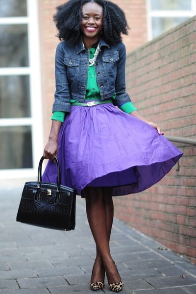 Jcrew skirt - Forever21 jacket - madewell shirt - Aldo bag - dune pumps
