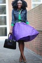 Jcrew skirt - Forever21 jacket - madewell shirt - Aldo bag - dune pumps