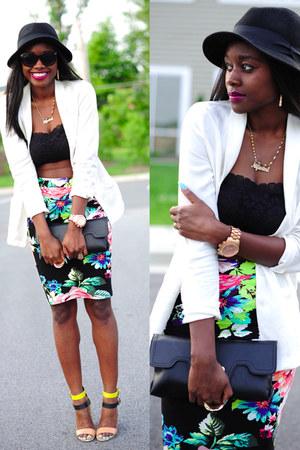 H&M skirt - H&M hat - H&M shirt - Zara sandals