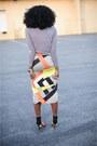 Loft-bracelet-h-m-shirt-zara-heels-aldo-necklace-topshop-skirt