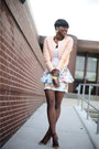 Zara-skirt-h-m-jacket-asos-purse-bcbg-sandals