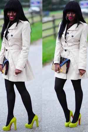 Christian Louboutin shoes - H&M jacket