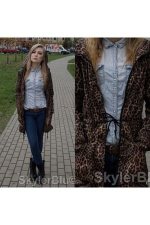 jeans c&a shirt - sky blue accessories