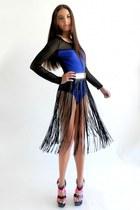 Blq Mkt bodysuit - Rehab skirt