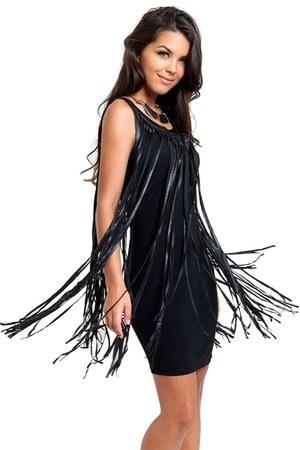 black Slimskii dress