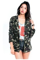 forest green Navie jacket