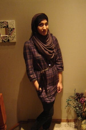 purple vera moda dress