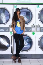 asos shoes - Patrizia Pepe jeans - Virginie Castaway jacket