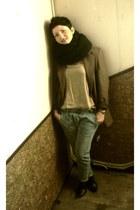 camel Pimkie blouse