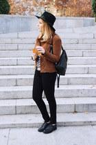 Esprit jacket - Geox shoes - Bimba & Lola hat - liujo bag - Levis pants