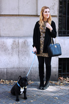 Kiabi dress - Zara boots - Michael Kors bag