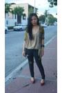 Jag-jeans-jeans-bazaar-cardigan-vintage-blouse-le-donne-pumps