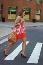 GoJane heels - f21 skirt