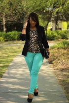 aquamarine Forever21 jeans