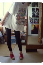 t-shirt - - Bensimon shoes