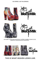 exclusive Black Milk x Jeffrey Campbell shoes