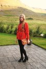 Falke-tights-gina-tricot-bag-brown-and-gold-h-m-belt-burberry-cardigan